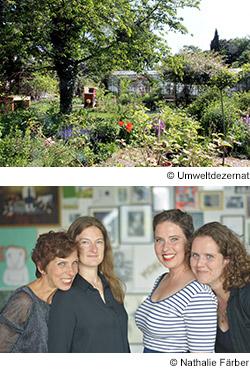 Chamisso Garten und Jazz-Sisters